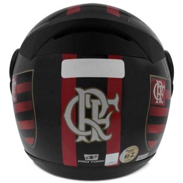 ... Capacete Pro Tork Fechado Clube Flamengo 788 Evolution - Produto Oficial  ... 9fb1ab40355f6